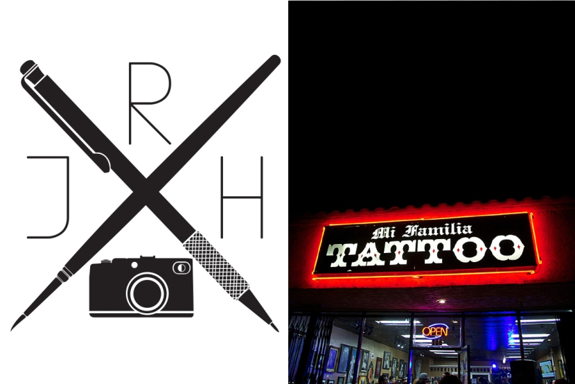 Art night at Mi Familia Tattoo Shop in Anaheim CA.
